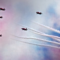 The Red Arrows by Angel Ciesniarska