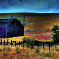 The Red Barn by David Patterson