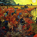 The Red Vineyard At Arles by Vincent Van Gogh