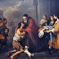 The Return Of The Prodigal Son by Esteban Murillo