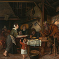 The Satyr And The Peasant Family by Jan Steen