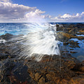 The Sea Erupts by Mike  Dawson