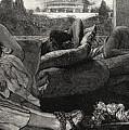 The Siesta by Sir Lawrence Alma-Tadema