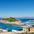 The Small Island Aponisos Near Agistri Island - Greece by Constantinos Iliopoulos