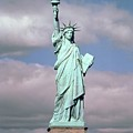 The Statue Of Liberty by American School