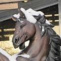 The Stood Horse  by Yury Bashkin