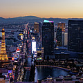 the Strip at night, Las Vegas by Sv