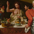 The Supper At Emmaus by Bartolomeo Cavarozzi