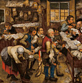 The Tax-collector's Office by Pieter Brueghel the Younger