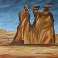 The Three Gossips by Christiane Schulze Art And Photography