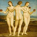 The Three Graces by Raffaello Sanzio