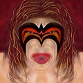 The Ultimate Warrior  by Chris Dippel