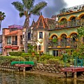 The Venice Canal Historic District by Mountain Dreams