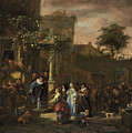 The Village Wedding by Jan Steen