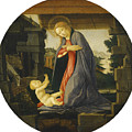 The Virgin Adoring The Child by Sandro Botticelli