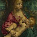The Virgin And Child by PixBreak Art