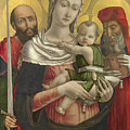 The Virgin And Child With Saints Paul And Jerome by PixBreak Art