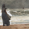 The Watcher, Tynemouth by Winslow Homer