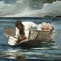 The Water Fan by Winslow Homer