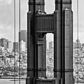 The World Famous Golden Gate Bridge In San Francisco, California by Jamie Pham
