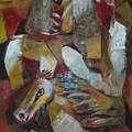 Three Horses by Raja Segar