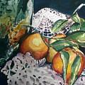Three Oranges by Aleksandra Buha