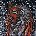Tiger Bathing by Demian Legg