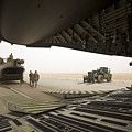 Tikrit, Iraq - A Ch-47 Chinook by Terry Moore