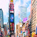Times Square by Jeelan Clark