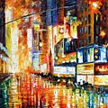 Times Square by Leonid Afremov