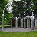 Toledo Botanical Garden Arches by Michiale Schneider