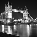 Tower Bridge On The Thames London by David French