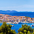 Town Of Primosten Panoramic View by Brch Photography
