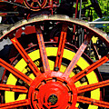 Tractor Big Wheel by Paul W Faust - Impressions of Light