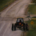Tractor On Washington by Wendie Thompson