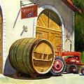 Tractor Pull by Karen Fleschler
