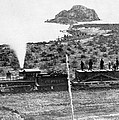 Transcontinental Railroad by Underwood Archives