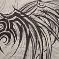Tribal Wing Sketch by Jaime Paberzis