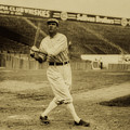 Tris Speaker With Boston Red Sox 1912 by Library Of Congress