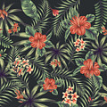Tropical Leaf Pattern 5 by Stanley Wong