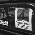 Truck With Right Wing Decal And Helldorado Days Poster Tombstone Arizona 1970 by David Lee Guss