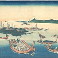 Tsukudajima In Musashi Province by Celestial Images