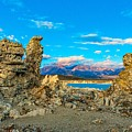 Tufa Formations At Mono Lake by Javier Flores
