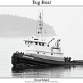 Tug Boat by William Jones