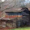 Tumbledown Barn by Kathryn Meyer