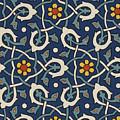 Turkish Textile Pattern by Turkish School
