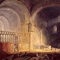 Turner Joseph Mallord William Transept Of Ewenny Prijory Glamorganshire Joseph Mallord William Turner by Eloisa Mannion