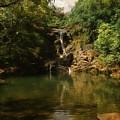 Twin Falls Pool by Byron Fair