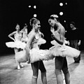 Two Dancers Chat by Jesse Gerstein