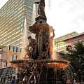 Tyler Davidson Fountain by Keith Allen